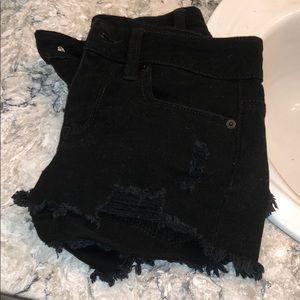 Black No Boundaries shorts